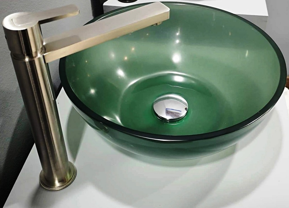 WASH BASIN S 16 in Color PINE GREEN